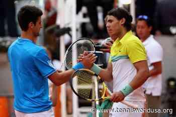 Rafael Nadal: 'Novak Djokovic and I played an exciting match in Madrid 2009' - Tennis World USA