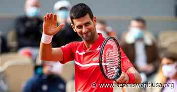 'Novak Djokovic offered us the best conditions for...', says ATP ace - Tennis World USA