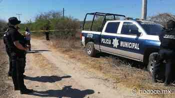Hallan a sujeto asesinado frente a la Laguna Colorada - Rio Doce