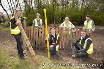 Construction students help in Blackburn's 'grow your own clothes' project