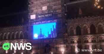 """LED-scherm op Grote Markt in Ieper storend voor hotelgasten: """"Door het felle licht kunnen we niet slapen"""" - VRT NWS"""