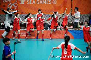Floorball: National women's team get $12000 boost from Excelsior Financial - The Straits Times