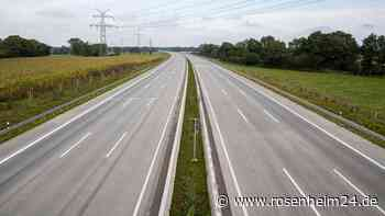 Vollsperrung A8 München - Salzburg: Brückenerneuerung westlich des Inntaldreiecks bei Westerndorf