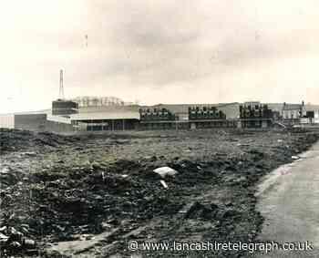 Blackburn's school with a pool taking shape in Seventies
