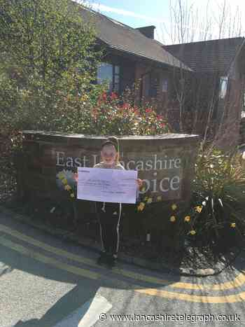 From a Minion to a burglar - Darwen schoolgirl dresses up for East Lancashire Hospice