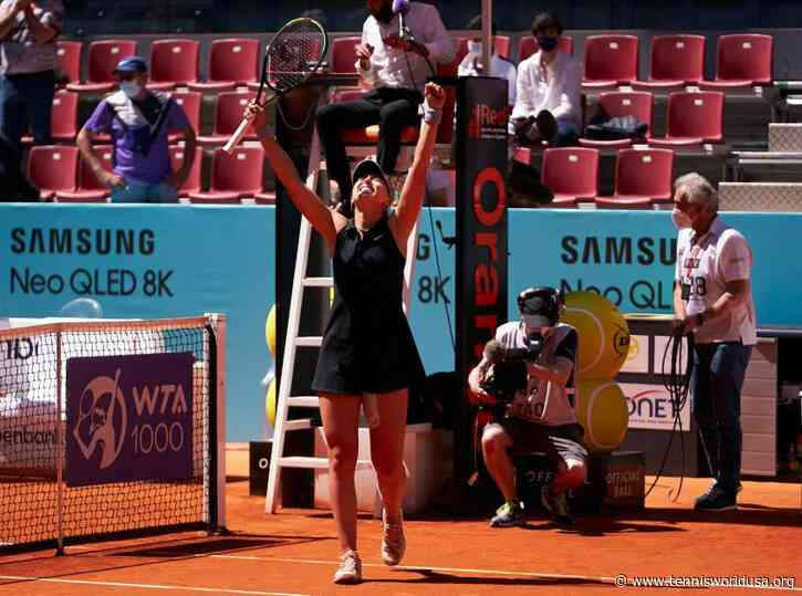 Mutua Madrid Open: Ashleigh Barty and Paula Badosa to renew rivalry in SF
