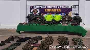 Hallan caleta con armas de Los Pelusos en Bucarasica - La Opinión Cúcuta