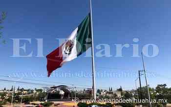 Bandera a media asta por luto nacional en El Palomar - El Diario de Chihuahua
