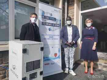 VIDEO. Le Rotary Flers-Condé présente un générateur atmosphérique d'eau pour le Bénin - actu.fr