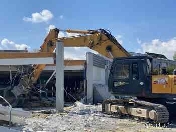 VIDEO. A Flers, le magasin Lidl est en cours de déconstruction - actu.fr