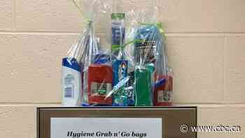 Souris students help each other with 'grab and go' hygiene kits - CBC.ca