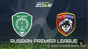 2020-21 Russian Premier League – Akhmat Grozny vs Tambov Preview & Prediction - The Stats Zone