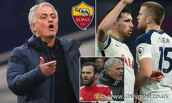 New Roma boss Jose Mourinho 'planning raid on Tottenham for Eric Dier and Pierre-Emile Hojbjerg'