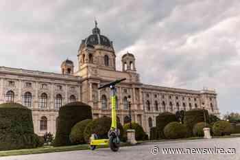 Superpedestrian führt LINK E-Scooter in Wien ein