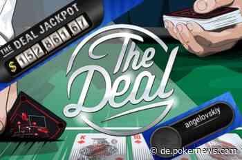 PokerStars Spieler 'angelovskiy' gewinnt $152k Deal Jackpot