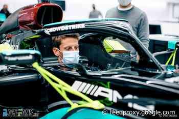 Mercedes confirm plans for Grosjean's first F1 test since Bahrain crash | 2021 F1 season