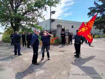 VIDEO e FOTO   Sciopero all'Elettropicena Sud di Ancarano. CGIL: azienda florida, ridiscutere contratto aziendale - ekuonews.it