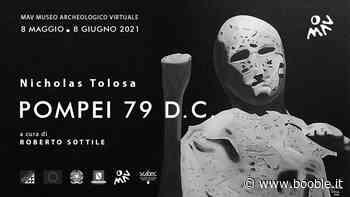 """NICHOLAS TOLOSA AL MAV DI ERCOLANO CON LA MOSTRA """"POMPEI 79 DC"""" - Booble Italia"""