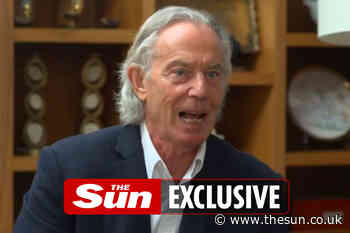 Don't take the p*** out of Tony Blair's mullet – he doesn't look like Pat Sharp, I fancy him more than ever... - The Sun
