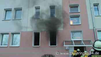 Sondershausen: Brand in Mehrfamilienhaus – SIE bleibt zurück - Thüringen24