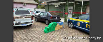 Homem é preso com 167 quilos de maconha em Pinhalzinho - Rádio Aliança 750khz