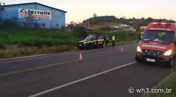 Acidente de trânsito envolve três veículos na BR-282 em Pinhalzinho - WH3
