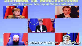 Auf der Kippe: Wirtschaftsabkommen der EU wird in geopolitischen Feldzug gegen Peking hineingezogen