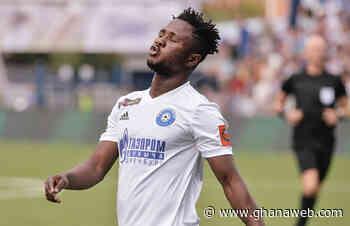 17:38 Joel Fameyeh scores 11th goal of the season for Orenburg - GhanaWeb