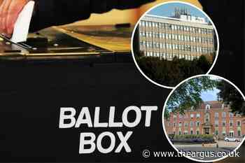 East and West Sussex local council elections: How to vote
