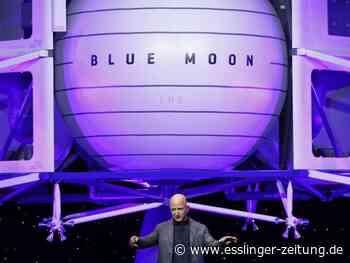 Raumfahrt: Firma von Amazon-Gründer will bald Touristen ins All bringen - esslinger-zeitung.de