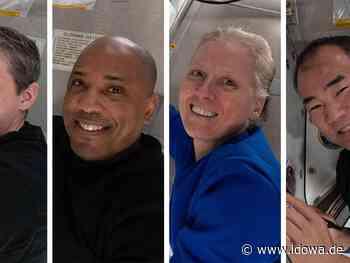 Raumfahrt - Nach sechs Monaten: Vier ISS-Astronauten zurück auf der Erde - idowa