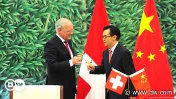 Schweizer Handelsdeal mit China klammert Menschenrechte aus - DW (Deutsch)