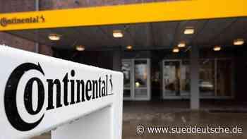 Continental verdient wieder besser - Süddeutsche Zeitung