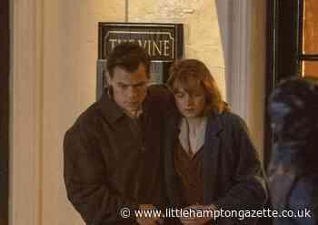 Harry Styles spotted filming with The Crown's Emma Corrin outside Worthing pub - Littlehampton Gazette
