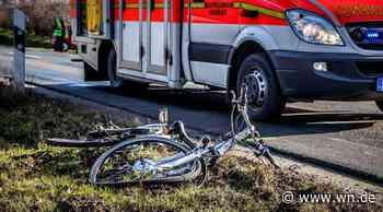 Münster: Fahrradfahrer bei Abbiege-Unfall schwer verletzt