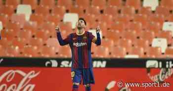 FC Barcelona: Lionel Messi nähert sich Rekord von Diego Maradona - SPORT1