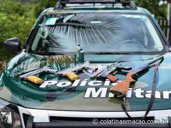 Polícia Ambiental apreende metralhadoras e espingarda em Aracruz - Colatina em Ação