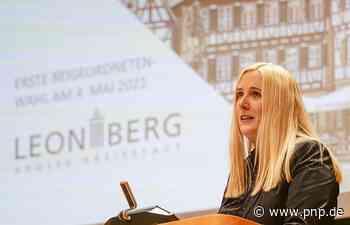 Bürgermeisterwahl in Leonberg: Josefa Schmid siegt - und schweigt - Passauer Neue Presse