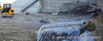 Como: in via Borgovico spuntano mura e tombe - La Provincia di Como