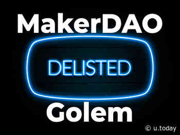 MakerDAO (MKR), Golem (GNT) Pairs Delisted by Bitfinex. What's the? - U.Today