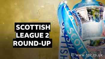 Elgin and Stranraer take League 2 play-off spots