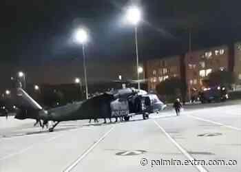 Helicópteros habrían aterrizado para evacuar a heridos y abastecer a policías - Extra Palmira