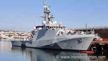 Royal Navy ships patrol Jersey waters as fishing row with France escalates