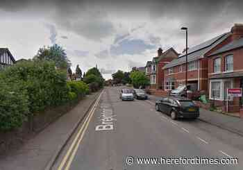 Police hunt man who abused and threatened cyclist in Hereford