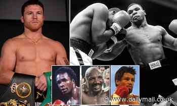 Canelo reveals he'd choose Mike Tyson if he could have the punching power of any fighter ever