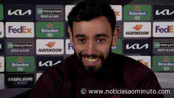 """Bruno Fernandes corrige jornalista: """"Não é Sporting Lisbon..."""" - Notícias ao Minuto"""