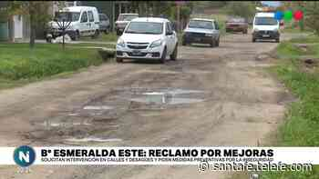 Calles destruidas, falta de iluminación e inseguridad: dramas en B° La Esmeralda - Telefe Santa Fe
