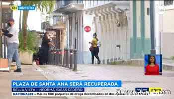 Autoridades buscan la recuperación de Plaza de Santa Ana - TVN Panamá