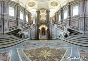 Reggia di Caserta, completato restauro pareti laterali dello Scalone - PUPIA