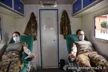 Non solo vaccini anti-Covid, soldati Caserta donano sangue per malati di talassemia - anteprima24.it